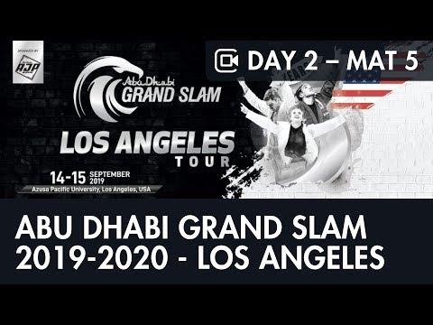 Day 2 – Mat 5 – ABU DHABI GRAND SLAM JIU-JITSU WORLD TOUR 2019-2020 - LOS ANGELES