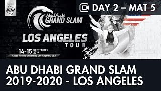 Day 2 – Mat 5 – ABU DHABI GRAND SLAM JIU-JITSU WORLD TOUR 2019-2020 - LOS ANGELES
