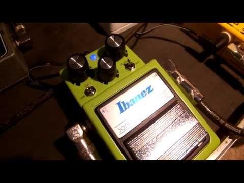 Ibanez SD9M Distortion guitar pedal demo, Msm Workshop