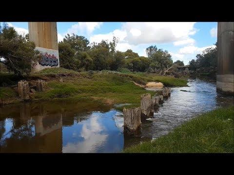Landbashing The Rapids - Swan River Vlog #1