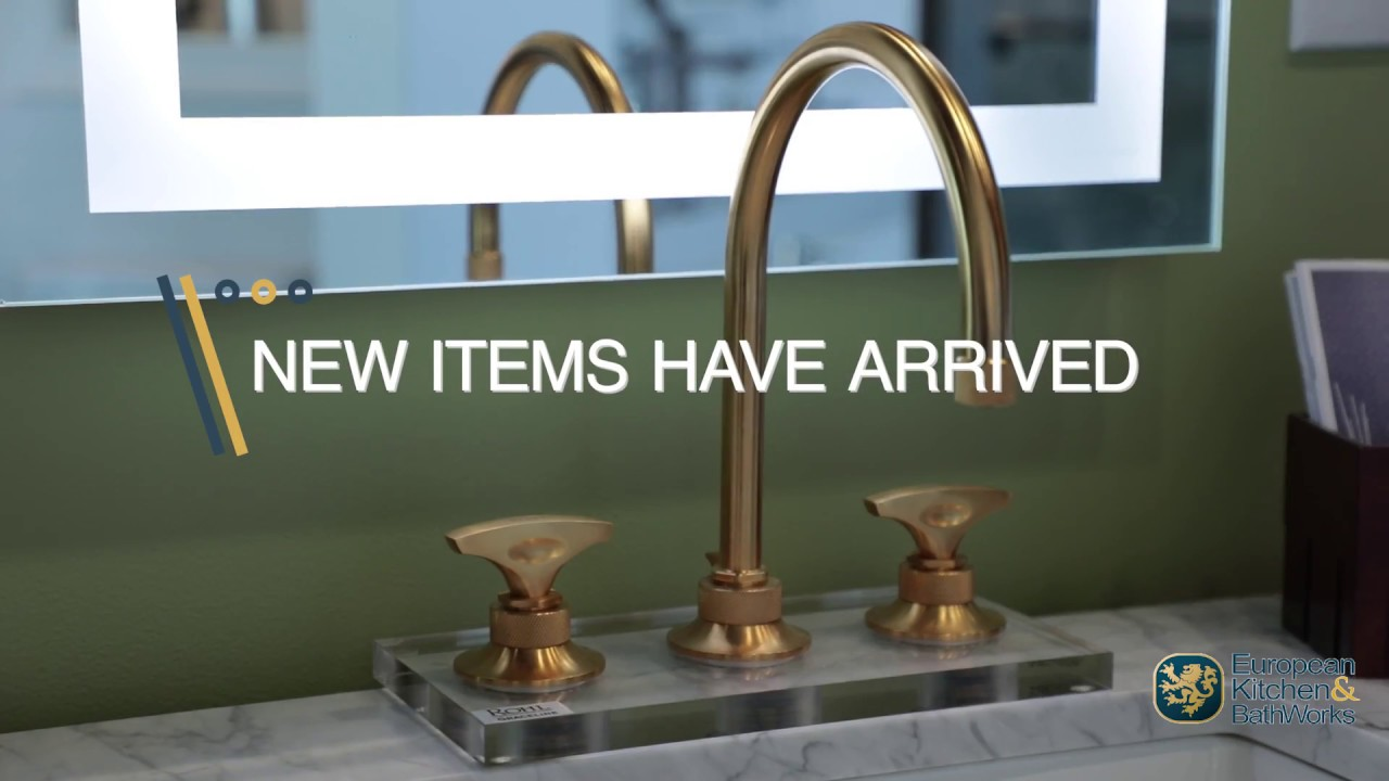 New items have arrived at European Kitchen & BathWorks - YouTube