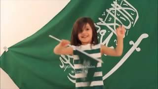 رقص بنت ع شيلة ايه انا سعودي💚💚