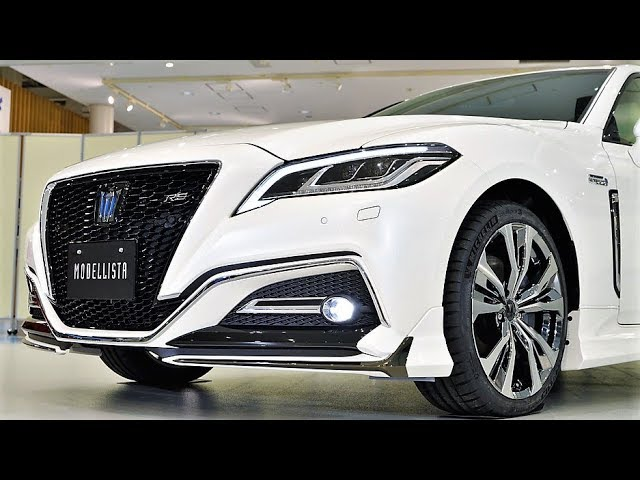 2019 Toyota Crown Rs Modellista Stronger Style