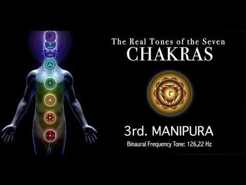 Chakra Real Tone - 3rd. MANIPURA - 126,22Hz Real Chakra Tone