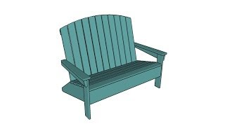 http://myoutdoorplans.com/furniture/adirondack-loveseat-plans/ SUBSCRIBE for a new DIY video almost every single day! If you