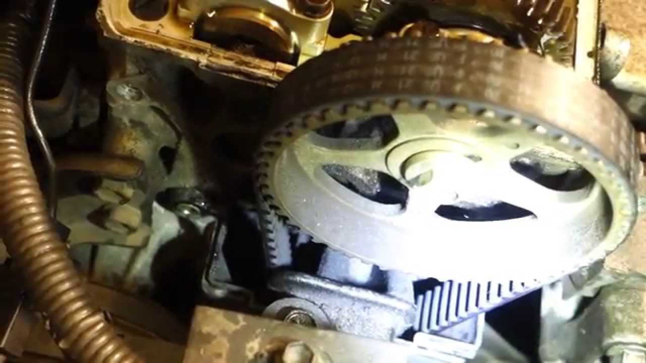How To Check Timing Belt Status Toyota Corolla Years 1991 2002 Celica Engine Diagram Youtube