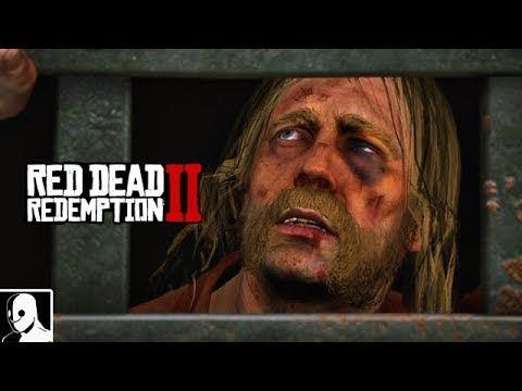 Red Dead Redemption 2 Gameplay German PS4 Pro #10 - Der Gefängnisausbruch (Lets Play Deutsch)