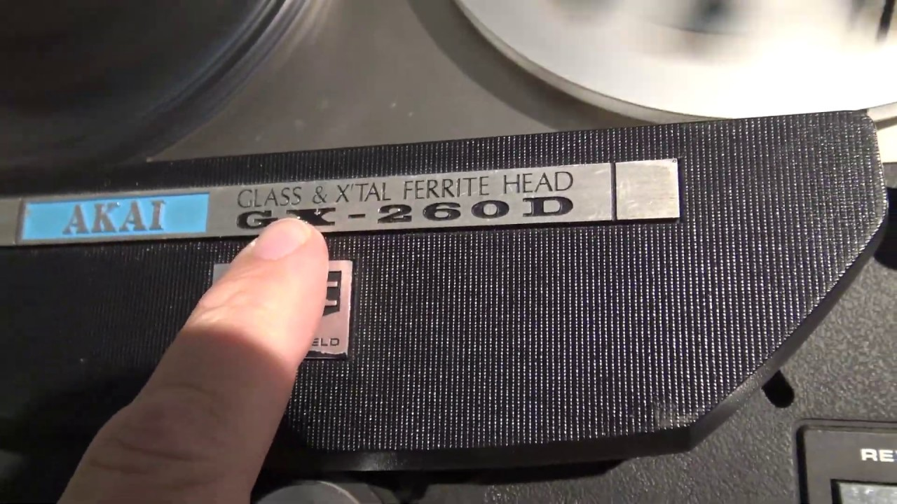 Download Akai Glass Head Tape decks are Garbage watch and find out why