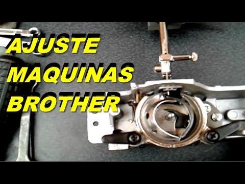 Ajuste del cangrejo maquinas brother | mecanica confeccion