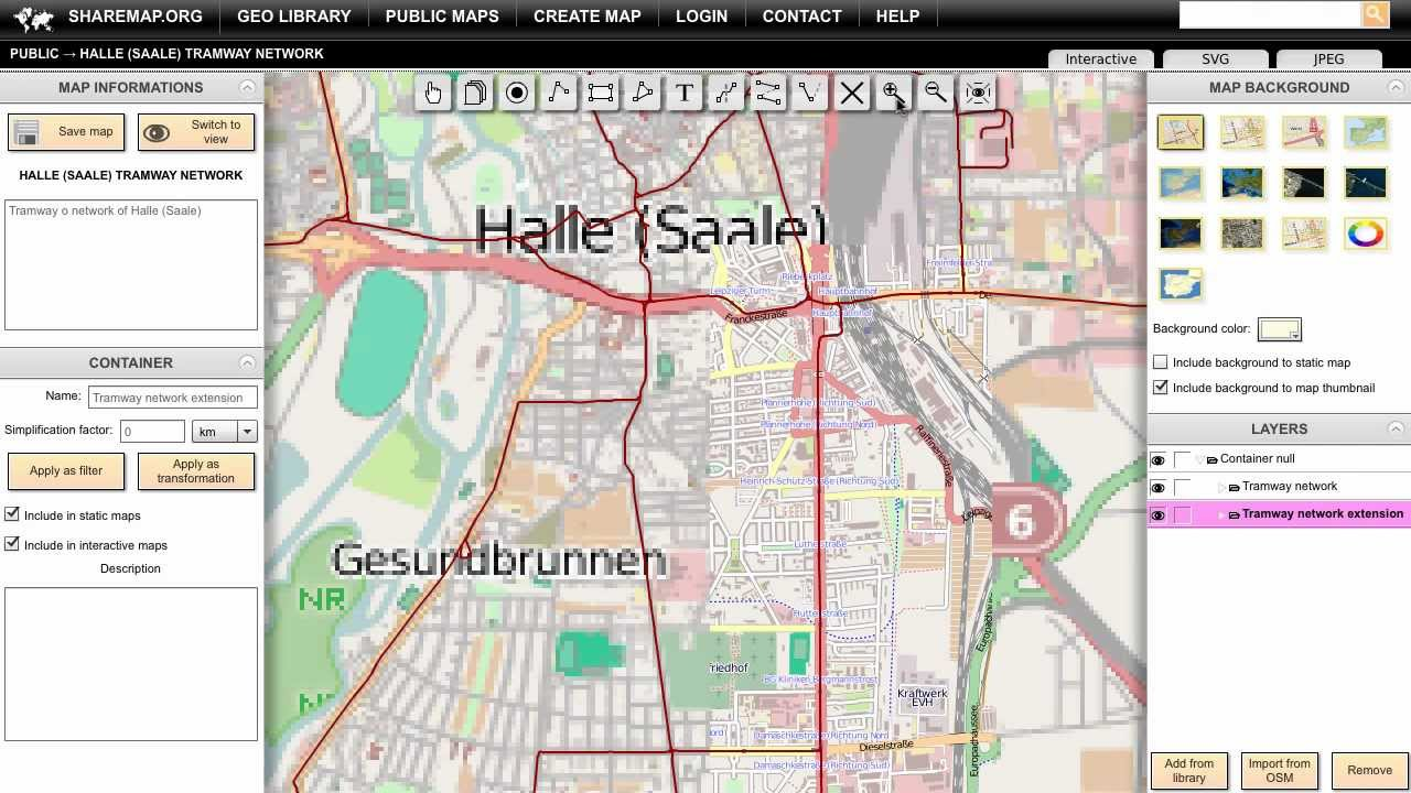 Creating Map With Vector Backgrounds From Open Street Map YouTube - Create street map