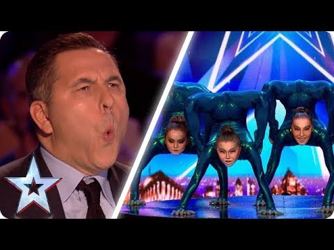 FLEXIBLE DANCE CREW BEND JUDGES' BELIEFS! | Britain's Got Talent