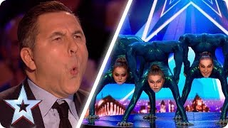 FLEXIBLE DANCE CREW BEND JUDGES\' BELIEFS! | Britain\'s Got Talent