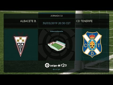 Albacete BP - CD Tenerife MD32 S2030
