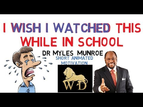 IF YOU WANT TO BE GREAT, YOU MUST WATCH THIS TWICE -- DR MYLES MUNROE
