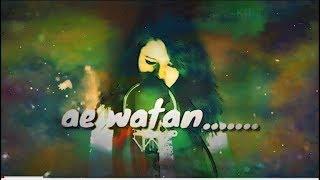 Ae Watan | Female version | Smriti Tiwari | Raazi | Sunidhi chauhan | Alia Bhatt|Shankar Ehsaan Loy