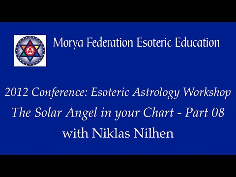 Esoteric Astrology Workshop Part 8 - Niklas Nilhen