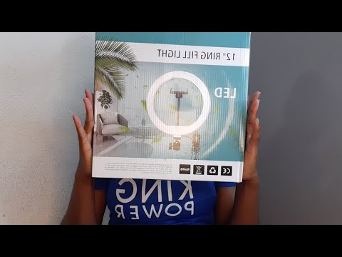 RING LIGHT UNBOXING