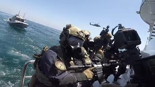 The Coast Guard Can Be Awesome Too GoPro Helmet Cam Ship Raid Training