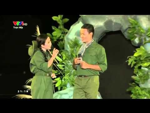 Trường Sơn Đông Trường Sơn Tây - Vân Khánh & Anh Bằng [Cầu truyền hình Hát mãi khúc quân hành]
