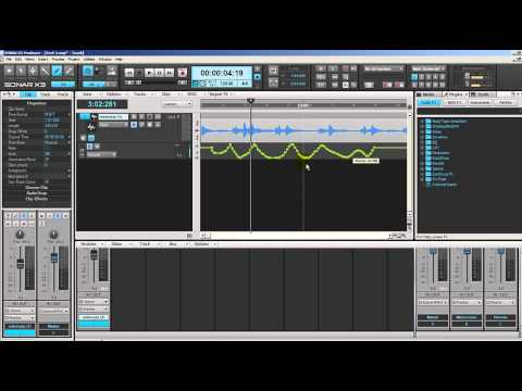 Assignement Music production week 3 - Sonar X3 Automation