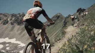 Awesome 2016 BIKE Transalp stage 4 in 60 seconds