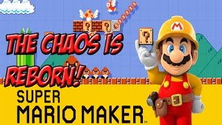 Super Mario Maker! The Chaos Reborn! - YoVideogames