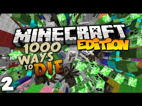 Top 10 ways to die in minecraft 1000 ways to die part 2 youtube