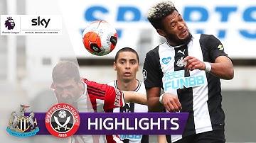 Klarer Sieg in Überzahl: Newcastle - Sheffield 3:0 | Highlights - Premier League 2019/20