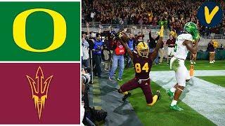 #6 Oregon vs Arizona State Highlights | Week 13 | College Football 2019