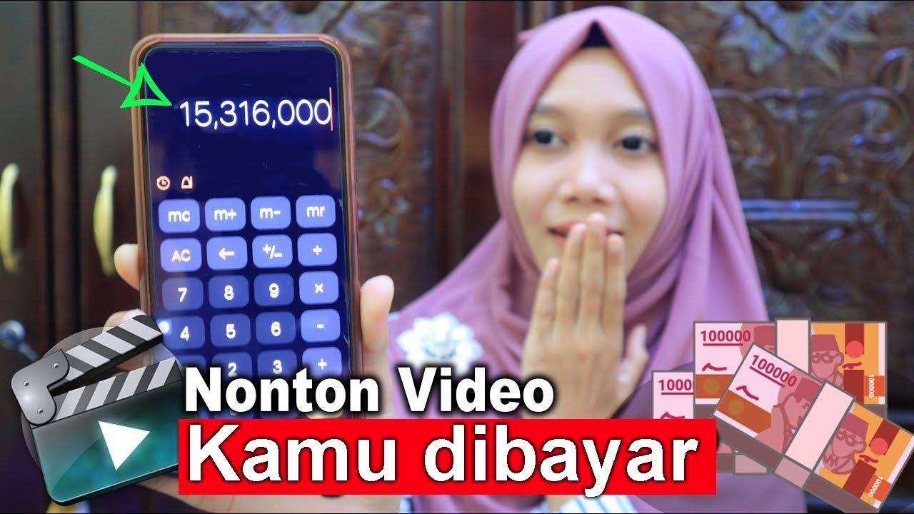 Dibayar Total 15 Juta Di Rumah Aja Cuma Nonton Video Aplikasi Penghasil Uang 2020 Youtube