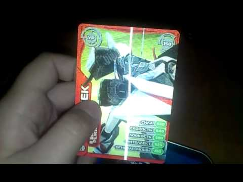 Коллекция карточек Черепашки ниндзя Боевая четверка