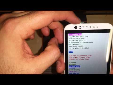 HARD RESET HTC Desire 510 - Boost Mobile