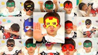 Стефан и Все МАСКИ Marvel Comics Мстители | Человек Паук | Дэдпул | Тор | Халк | Блэйд