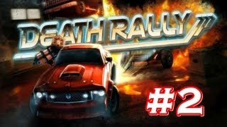 Death Rally PC ( 2012 ) Gameplay #2 ( 1080p )