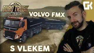 VOLVO FMX S VLEKEM! | Euro Truck Simulator 2