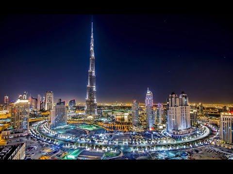 Burj Khalifa, The Most Beautiful Building Night Views In Dubai Emirates Al Arab Amazing In The World