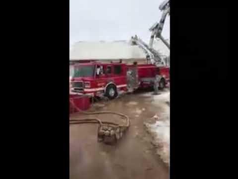 Hintzke Well Drilling Volunteers Water Tanks during Snow Crisis