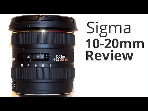 Sigma 10-20mm f/4-5.6 Lens Review