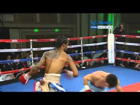 ¿Hubo fraude? Un boxeador argentino cayó a la lona sin recibir un golpe