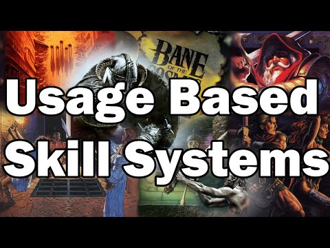 Usage Based Skill Systems In RPGs - Armchair Analysis