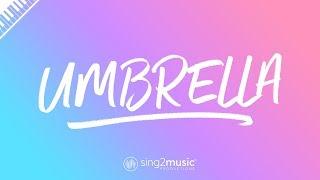 Umbrella (Piano Karaoke) Rihanna & JAY-Z