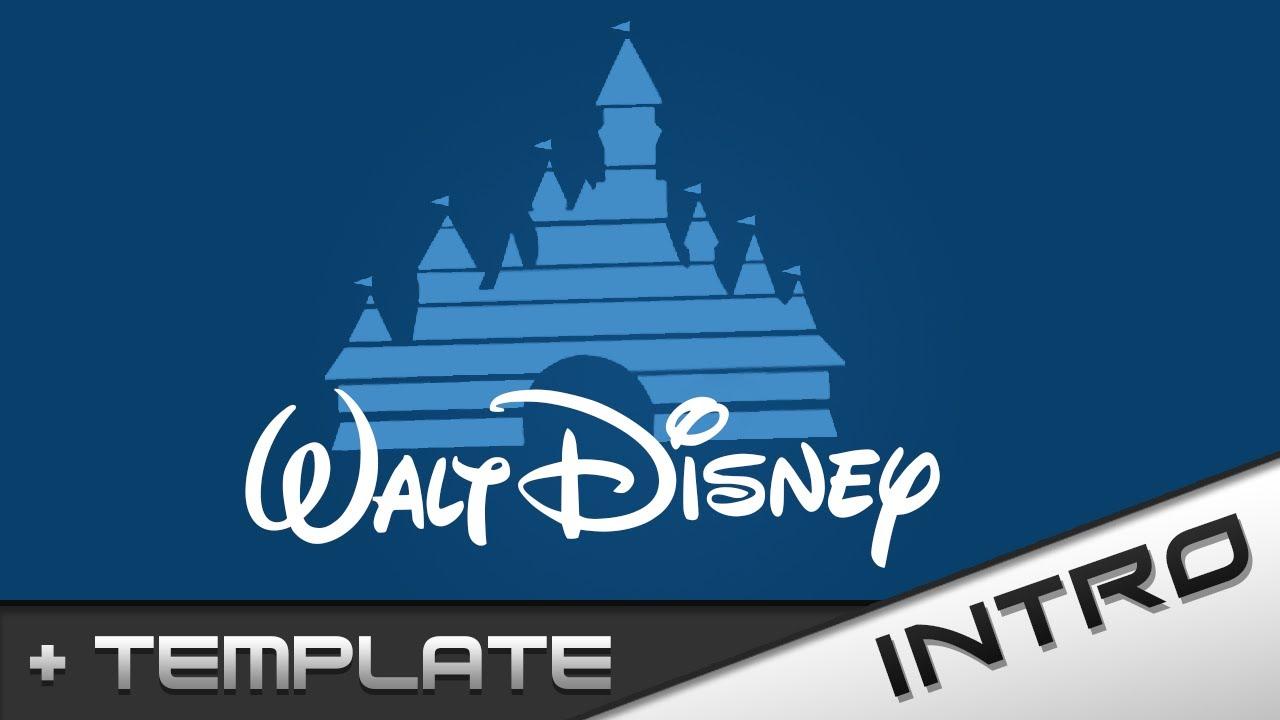 walt disney template youtube
