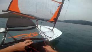 Skeeta foiling in light winds