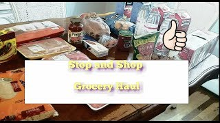 Weekly $157 Grocery Haul with Menu- Family of 5- Stop and Shop delivery- Operation Mommy