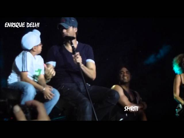 ENRIQUE IGLESIAS - DELHI  Ring my bells & I like it with lucky Parmeet and Mukul