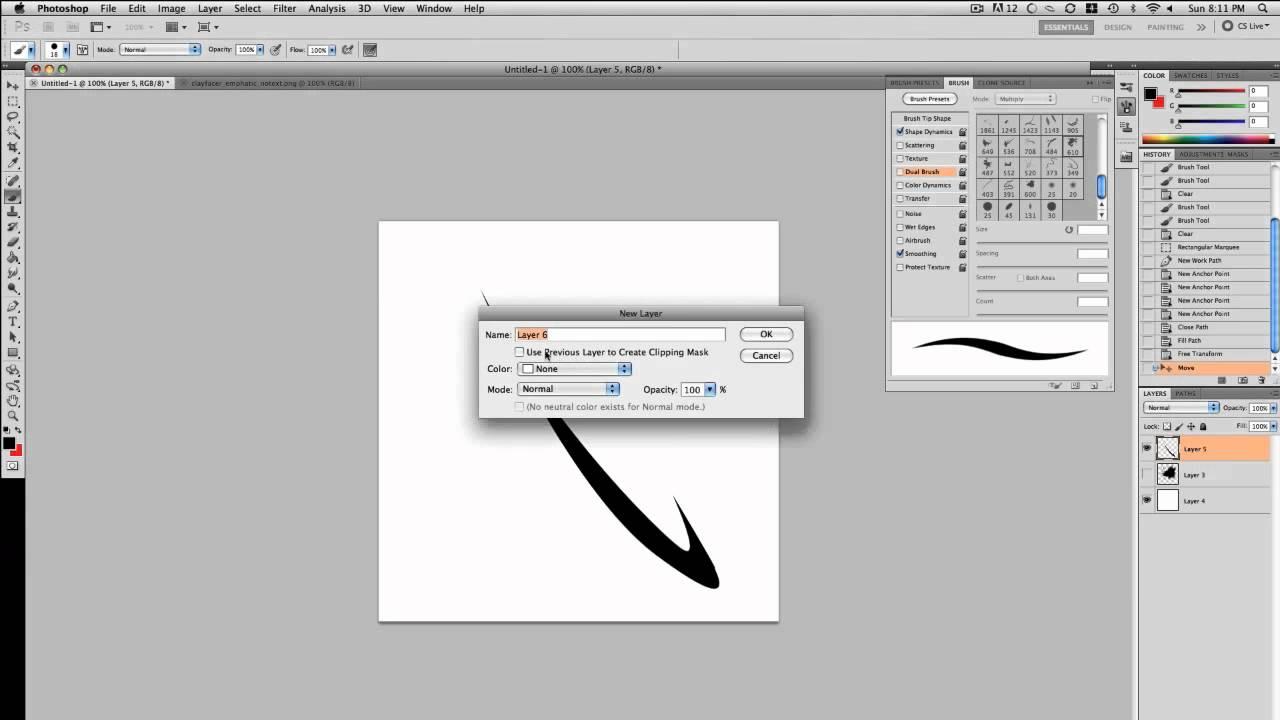 photoshop brushes tutorial