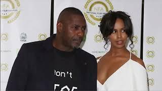 Idris Elba gets married (UK) - ITV London News - 27th April 2019