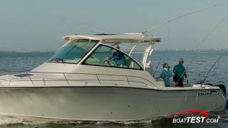 Grady-White Express 370 (2017-) Test Video- by BoatTEST.com