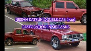 Nissan Double Cab Full Restoration In Sri Lanka  Nissan Datsun 720 Repair And Paint