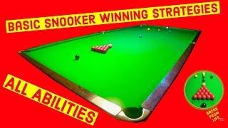 Snooker Basic Game Winning Techniques